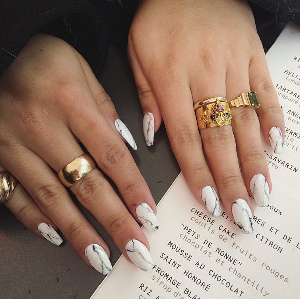 Nail Designs And Nail Art Latest Trends: The Latest Trend In Nail Art Totally Rocks