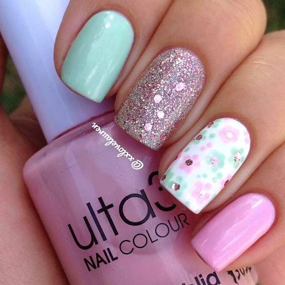 Bright Summer Nail Designs